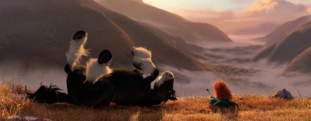 3D-мультик «Храбрая сердцем» (Brave): создание пейзажей