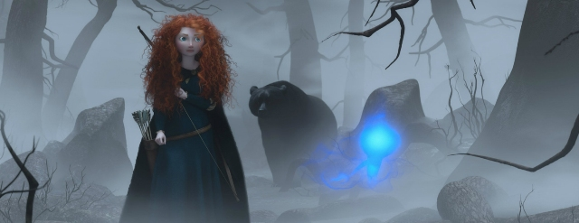 3D-мультик «Храбрая сердцем» (Brave): работа над фильмом