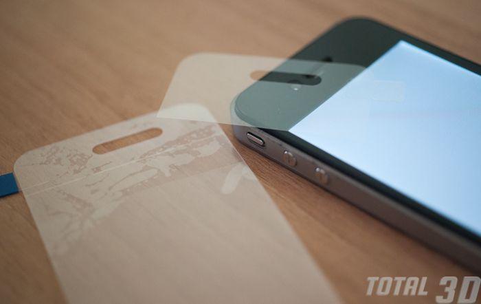 Обзор 3D-пленки для iPhone 4/4s Pic3D. Наклеивание пленки