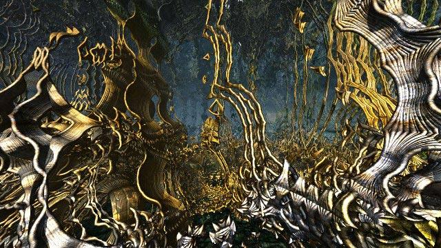 Динамическая живопись (Dynamic Paintings): Blu-ray 3D-диск «The Function of Reality»