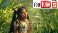 YouTube 3D-ролик к песне «Earth Song» Майкла Джексона