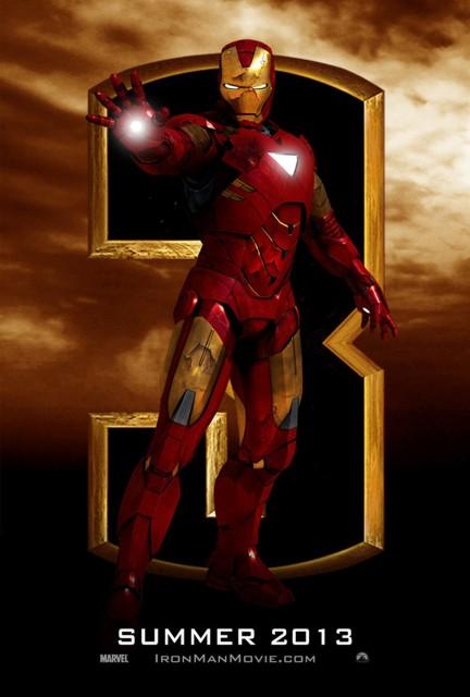 Начало съемок 3D-фильма «Железный человек 3»