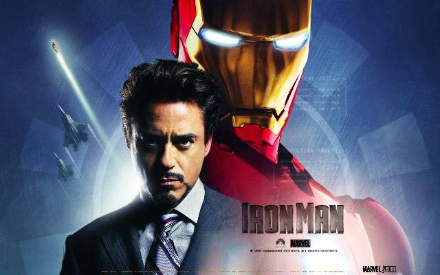Роберт Дауни мл. (Robert Downey Jr) в 3D-фильме «Железный человек 3»
