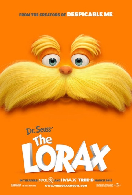 YouTube стерео 3D-трейлер к мультфильму «Лоракс» (Lorax)