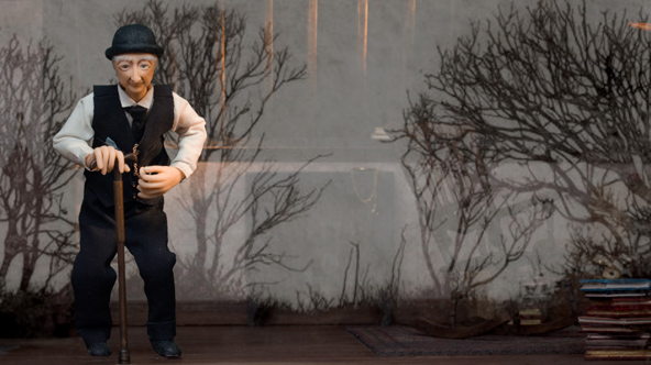 Кукольная 3D-анимация «Часы реальности» («The Reality Clock») от Аманды Тассе (Amanda Tasse)