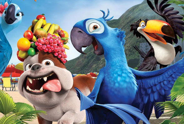 Киностудия Blue Sky Studios занимается производством 3D-мультика «Рио 2»