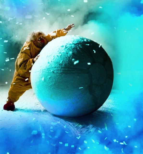 Слава Полунин в 3D-ленте «Снежное шоу 3D»