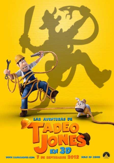 Мировая премьера 3D-мультика «Тэд Джонс и Затерянный город» запланирована на 7 сентября 2012 года