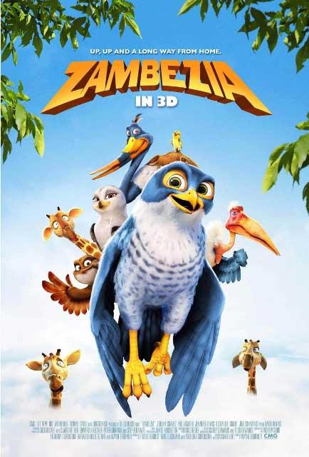 Мировая премьера 3D-мультика «Замбезия» состоится 5 октября 2012 года
