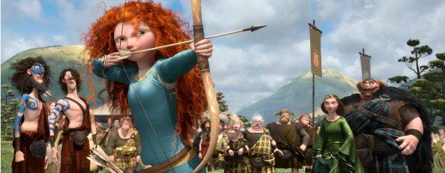 3D-фильм «Храбрая сердцем»: кадры из мультфильма