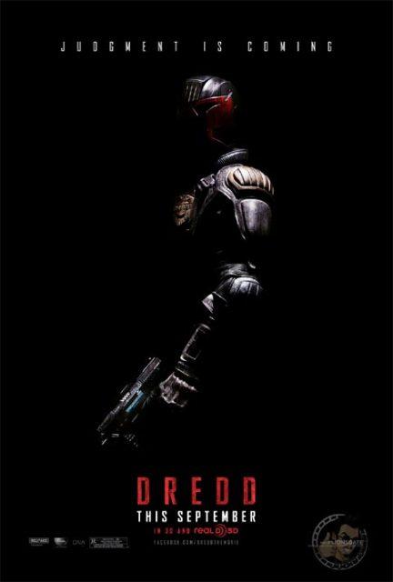 Постер к 3D-фильму «Судья Дредд»