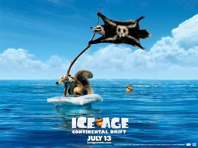«Ледниковый период 4: Континентальный дрейф» (Ice Age: Continental Drift) в 3Dv