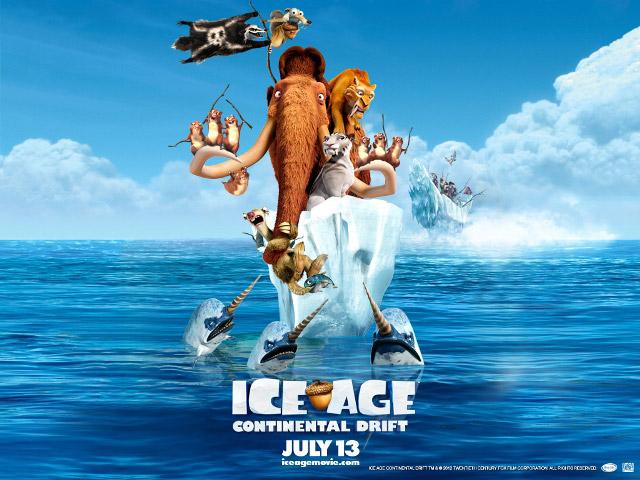 «Ледниковый период 4: Континентальный дрейф» (Ice Age: Continental Drift)
