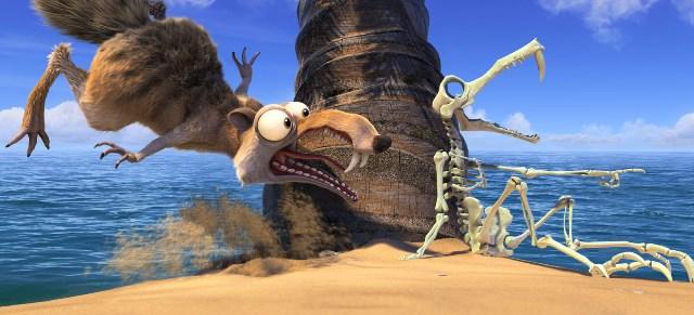 Кадры к 3D-фильму «Ледниковый период 4: Континентальный дрейф» (Ice Age: Continental Drift)