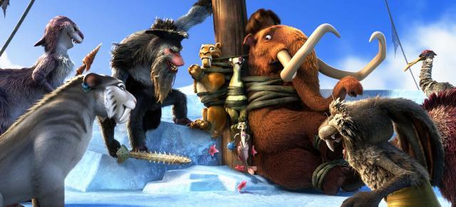 «Ледниковый период 4: Континентальный дрейф» (Ice Age: Continental Drift) в 3D: трейлеры
