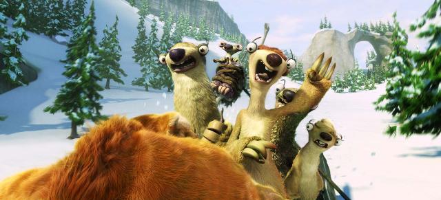 3D-фильм «Ледниковый период 4: Континентальный дрейф» (Ice Age: Continental Drift)