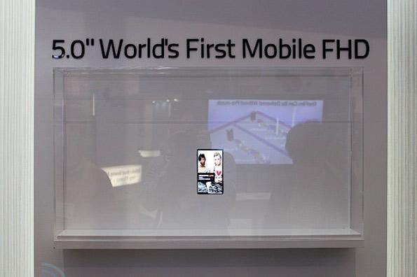 """5"""" Full HD ЖК-панель для смартфонов от LG"""