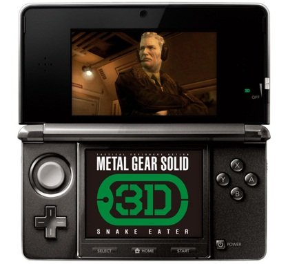 Metal Gear Solid 3D: Snake Eater на Nintendo 3DS
