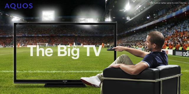 """90"""" 3D-ТВ Sharp AQUOS – самый большой ЖК-телевизор"""