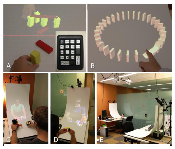 Геометрией и виртуальными 3D-сценами можно делиться с другими пользователями для совместной игры или дистанционной работы