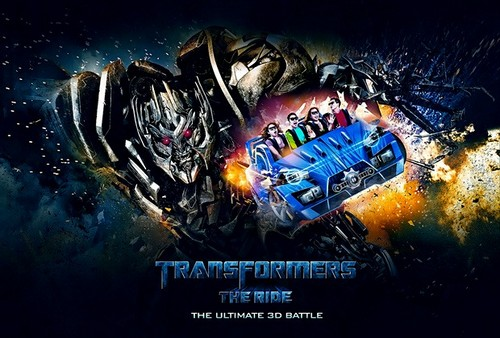 3D-аттракцион Transformers: The Ride