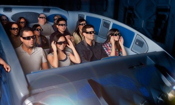 3D-аттракцион Transformers: The Ride от Universal Studios