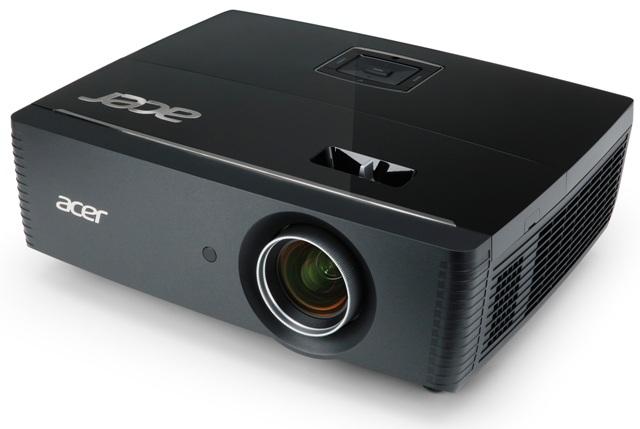 Acer P7215: первый одноламповый проектор с поддержкой 3D