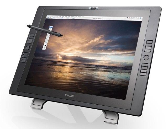 Интерактивные перьевые дисплеи Cintiq 24HD touch и Cintiq 22HD от Wacom