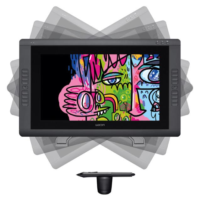 Интерактивный перьевой дисплей и Cintiq 22HD от Wacom