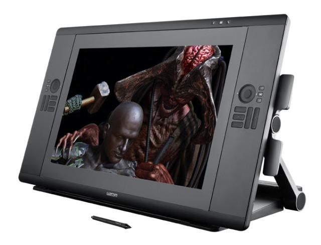 Интерактивный перьевой дисплей Cintiq 24HD touch от Wacom