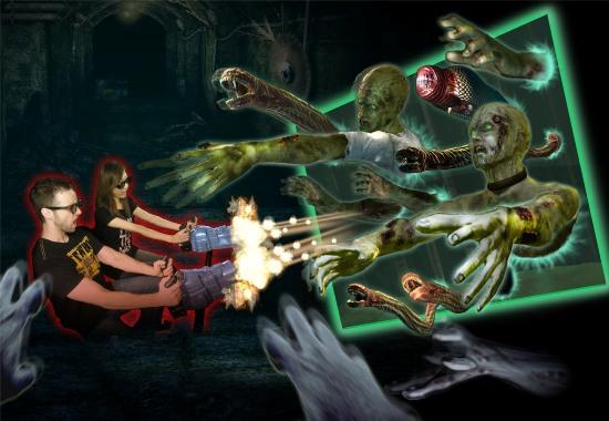 4D-игра Dark Escape 3D от Namco Bandai Games
