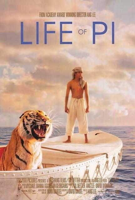Мировая премьера 3D-драмы «Жизнь Пи» состоится 21 ноября 2012 года