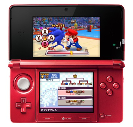 Обзор игр для Nintendo 3DS: Mario & Sonic at the London 2012 Olympic Games версия для Nintendo 3DS