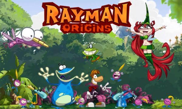 Обзор игр для Nintendo 3DS Rayman Origins Вся компания в сборе