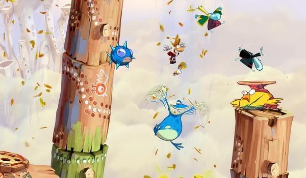 Обзор игр для Nintendo 3DS Rayman Origins Каждая локация по-своему особенная