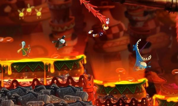 Обзор игр для Nintendo 3DS Rayman Origins Тут будет очень жарко