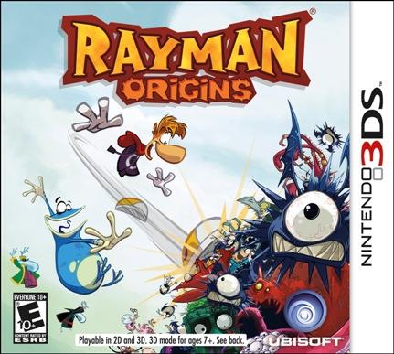 Обзор игр для Nintendo 3DS Rayman Origins Обложка игры
