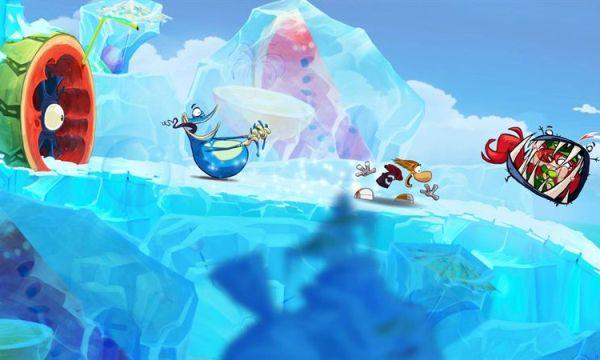 Обзор игр для Nintendo 3DS Rayman Origins Скользим по ледяным склонам