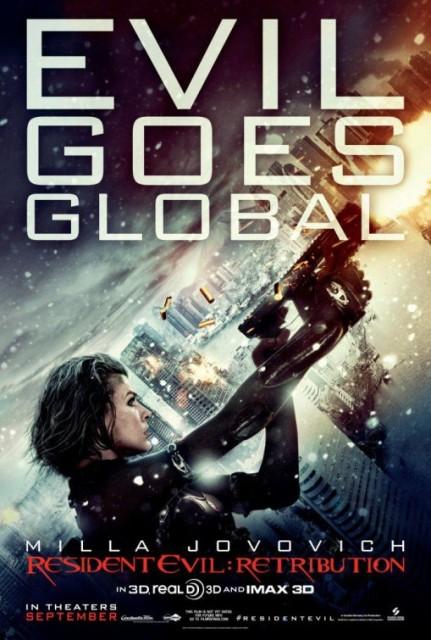 Постер к 3D-фильму «Обитель 5: Возмездие»