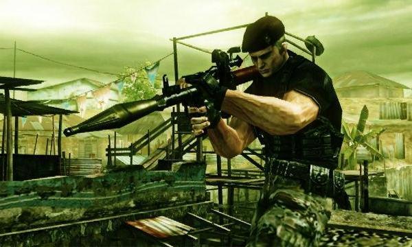 Обзор игр для Nintendo 3DS Resident Evil: The Mercenaries 3D Нам предоставлен большой арсенал оружия