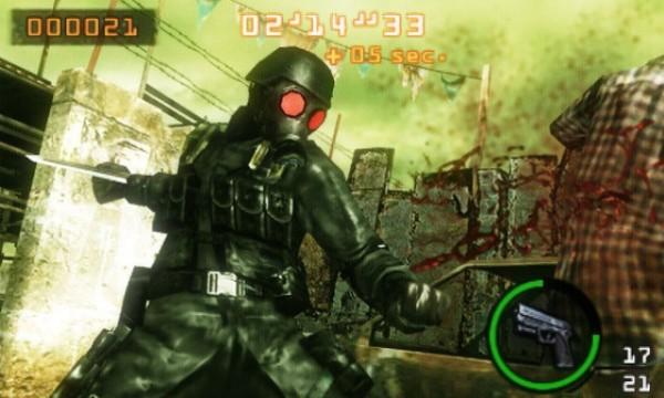 Обзор игр для Nintendo 3DS Resident Evil: The Mercenaries 3D Hunk всегда возвращается живым даже с самых тяжелых заданий