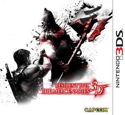 Обзор игр для Nintendo 3DS Resident Evil: The Mercenaries 3D Так выглядит обложка игры