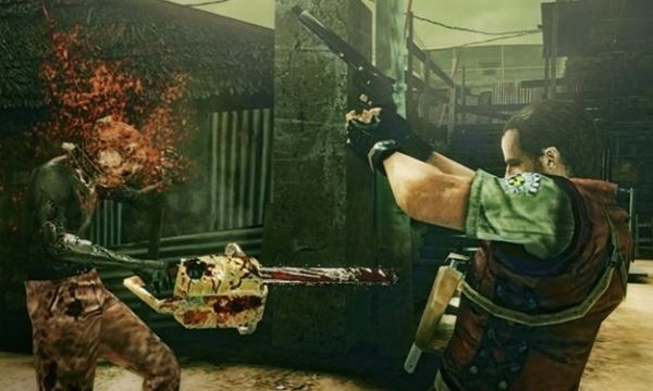 Обзор игр для Nintendo 3DS Resident Evil: The Mercenaries 3D Разлетающиеся мозги в 3D выглядят внушительно…