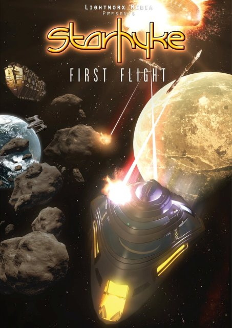 Научная 3D-фантастика «Первый полет Стархайка» (Starhyke First Flight)