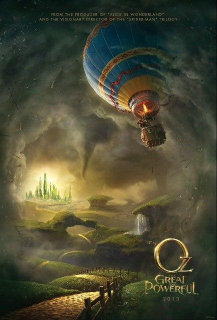 Мировая премьера 3D-ленты «Оз: Великий и Ужасный» состоится 7 марта 2013 года