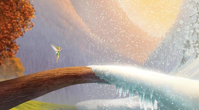 3D-анимация Disney «Феи: Тайна Зимнего леса»: русскоязычный постер