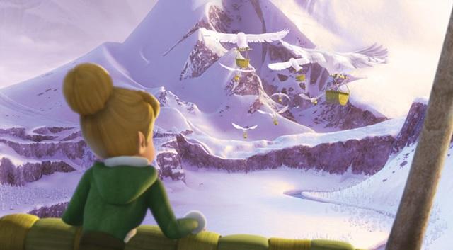 3D-мультфильм Disney «Феи: Тайна Зимнего леса»: русскоязычный постер