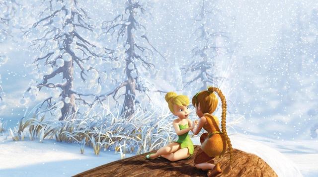 3d мультфильм disney феи тайна зимнего