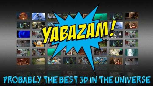 Сервис 3D-видео Yabazam для владельцев ПК с поддержкой технологии TriDef 3D