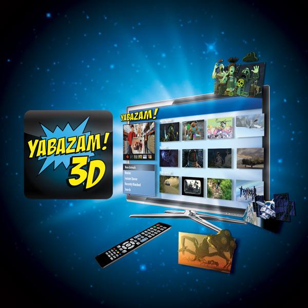 Сервис 3D-видео Yabazam для владельцев 3D-ТВ от Samsung и LG